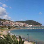 Skopelos ammos beach skopelos town