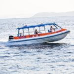 Skopelos-watertaxi met seekabine