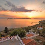 Sporades rúnda Skopelos palio klima