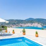 Vila Skopelos s bazenom Anastasia