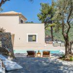 Vila Skopelos s bazenom antigona