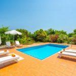 Skopelos pool villa glafki