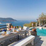 Skopelos swembad villa nina