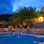 Skopelos pool villa potami house
