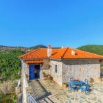 Città di Skopelos alleggerimento