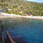 Skopelos see-uitstappie Fedra-vaarte