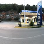 Skopelos gas eliin fuel station glikos