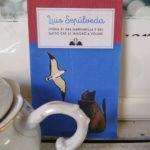 מיצי Skopelos ספרים חנות ספרים בבית קפה