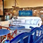 Skopelos lielā zilā kafejnīca