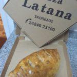 Skopelos pizza la Tanna