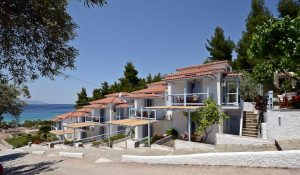 Milia Beach, Plage Skopelos, Milia Appartementer