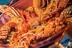 adrina taverna skopelos, jastogovi špageti skopelos, adrina taverna panormos, adrina beach hotel