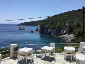 Stafylos Restaurant Skopelos, Stafylos Strand Skopelos